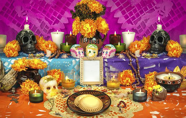 Como-hacer-un-altar-de-muertos-mexicano